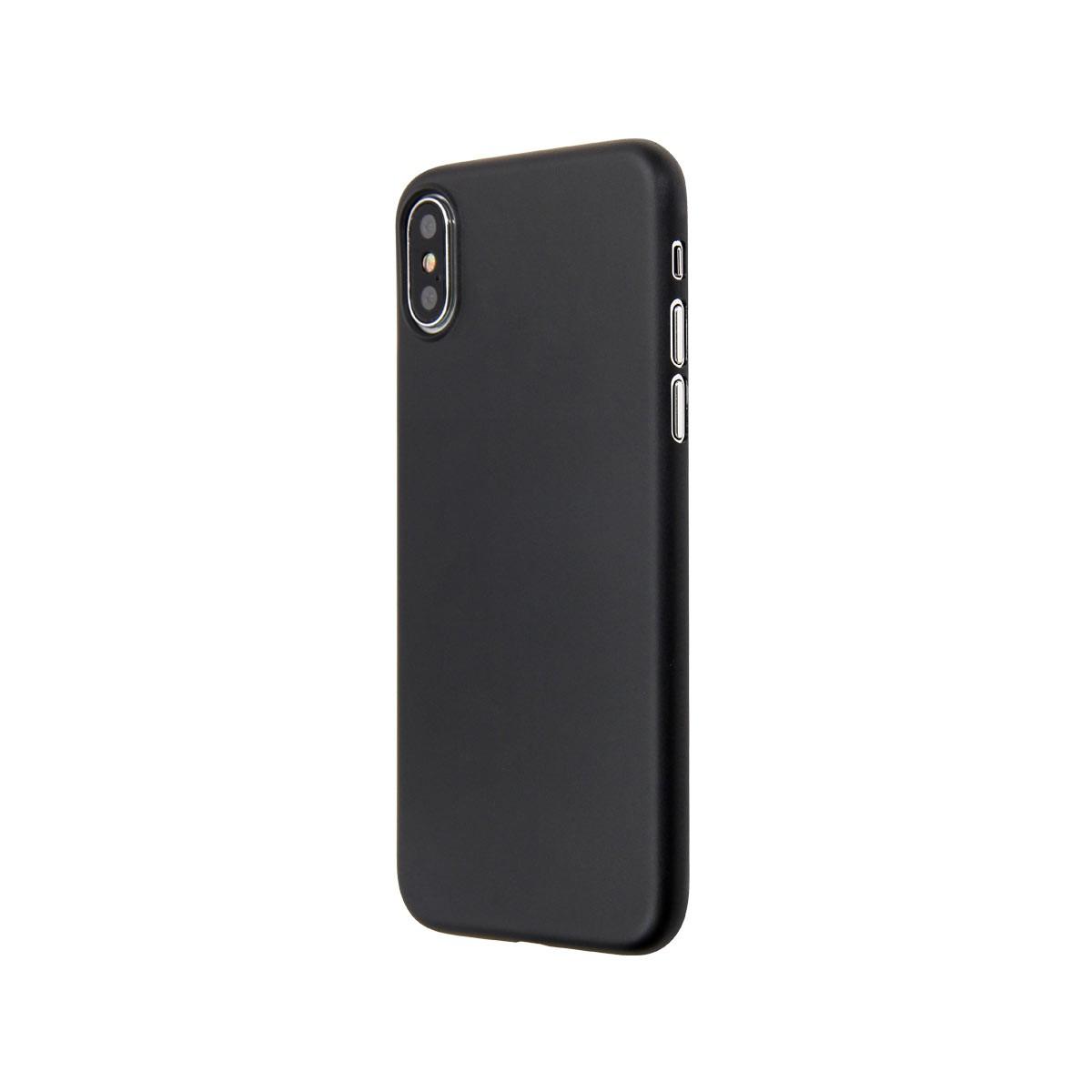 Capac protectie spate cellara colectia thin pentru iphone x - negru