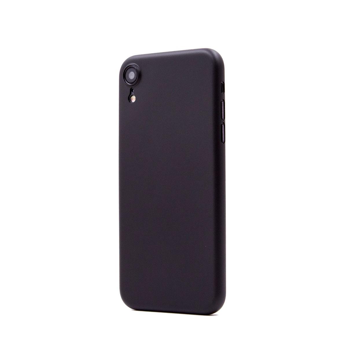 Capac protectie spate cellara colectia thin pentru iphone xr - negru