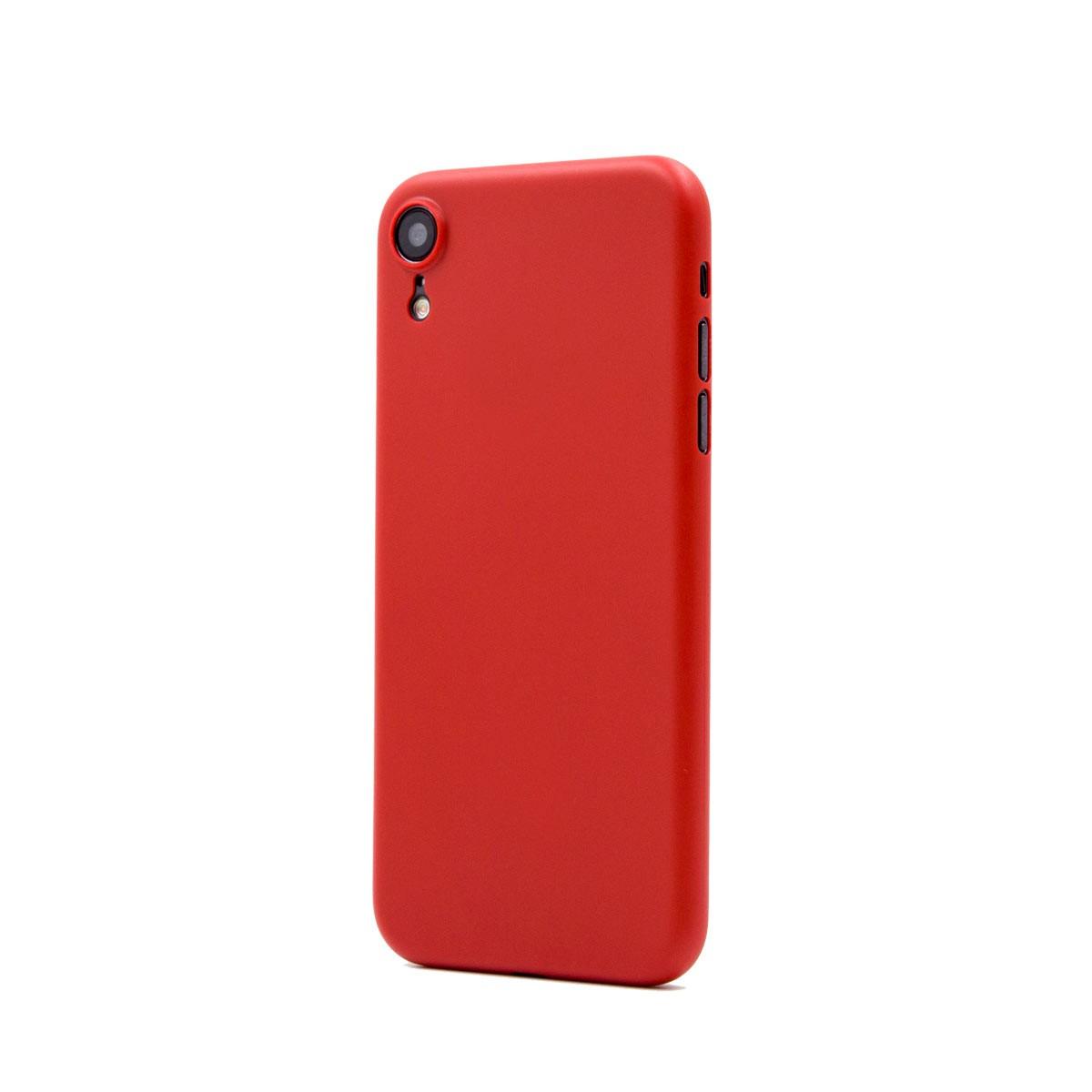 Capac protectie spate cellara colectia thin pentru iphone xr - rosu