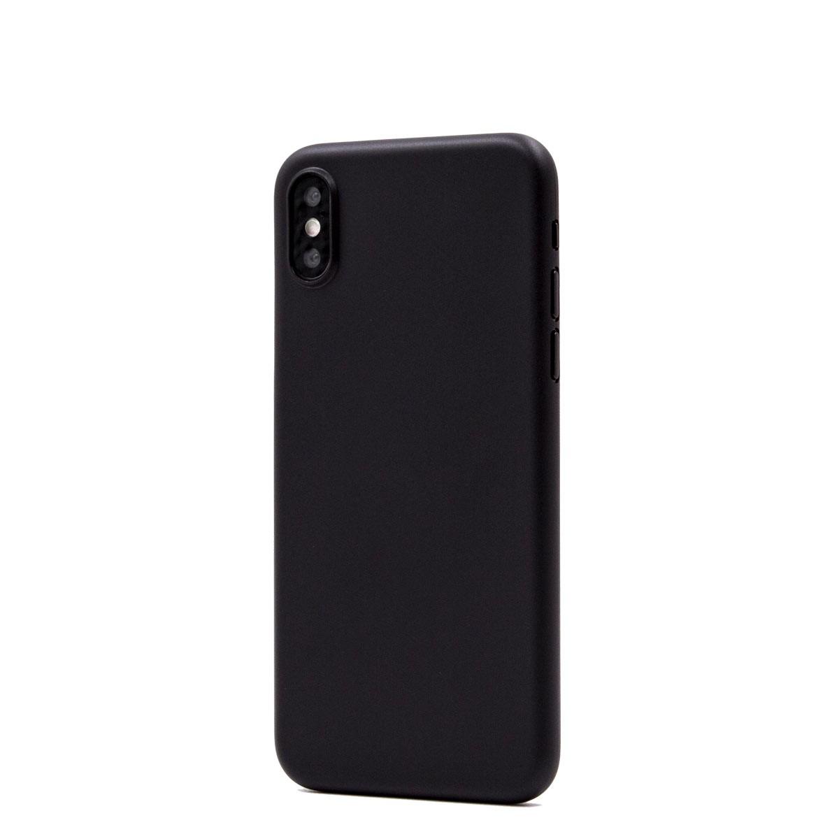 Capac protectie spate cellara colectia thin pentru iphone xs - negru