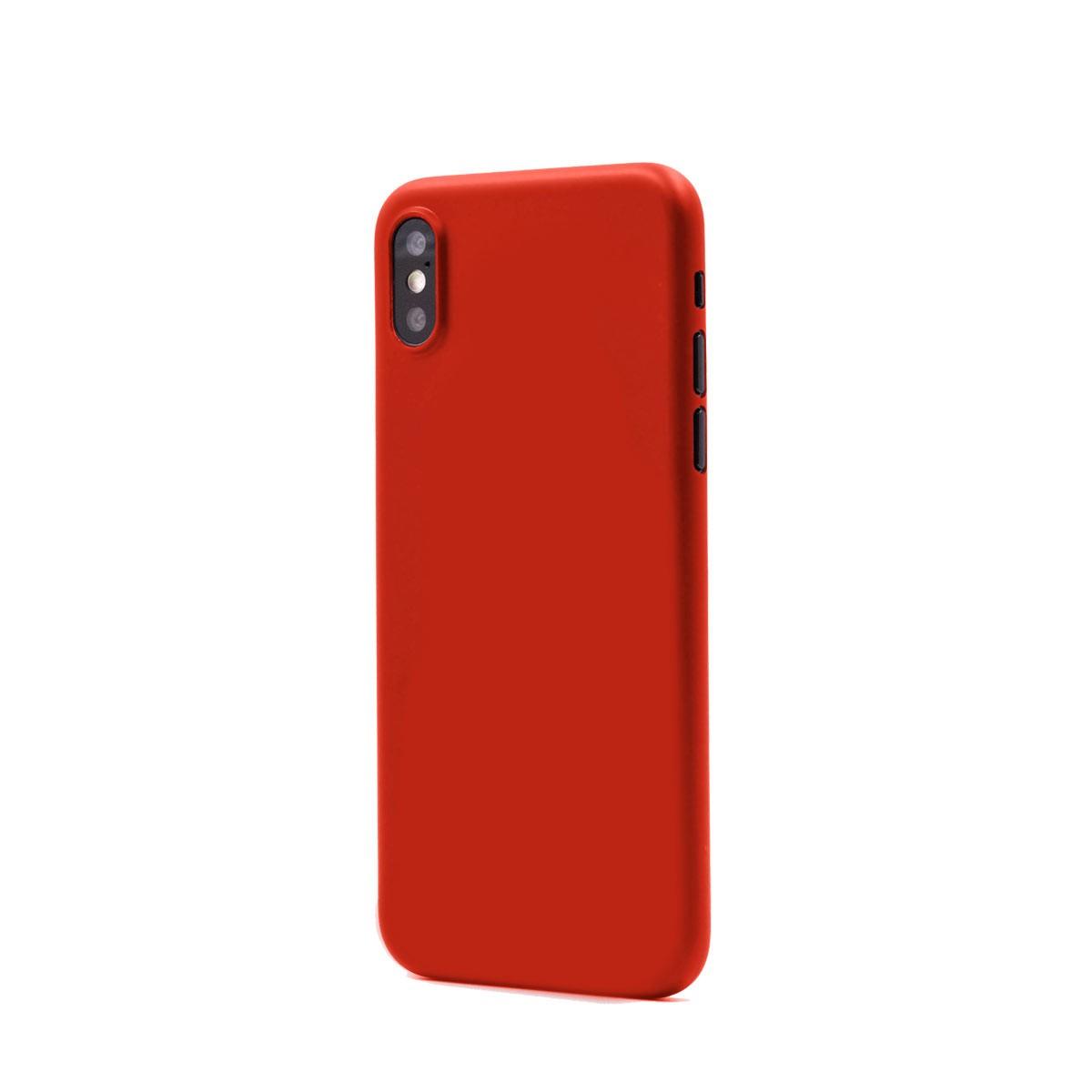 Capac protectie spate cellara colectia thin pentru iphone xs - rosu