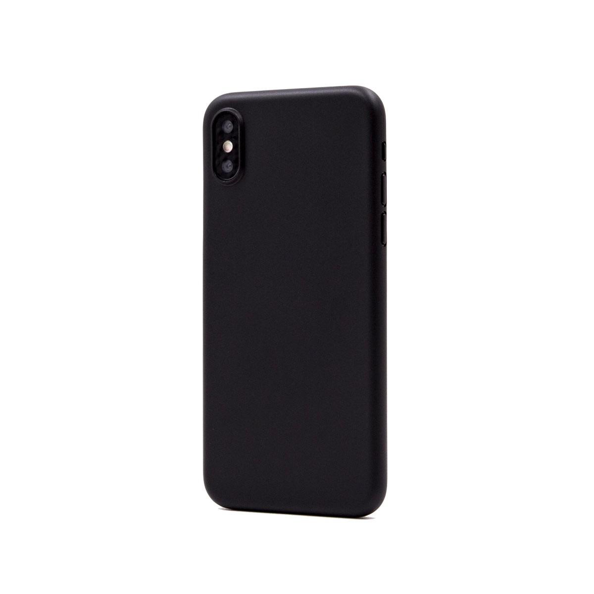Capac protectie spate cellara colectia thin pentru iphone xs max - negru