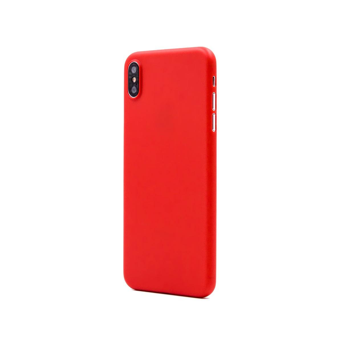Capac protectie spate cellara colectia thin pentru iphone xs max - rosu