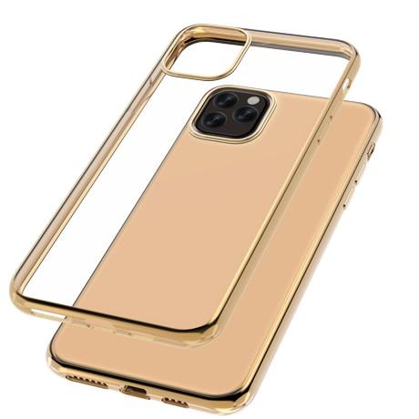 Capac protectie spate cellara colectia electro pentru iphone 11 pro max - auriu