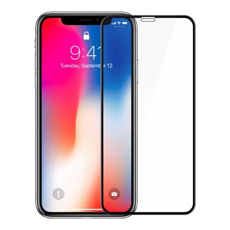 Folie protectie ecran sticla 3d full cover cellara pentru iphone xs max/11 pro max - negru