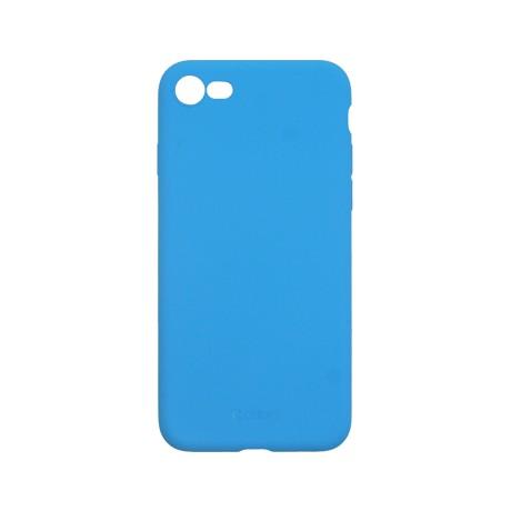 Capac protectie spate cellara din silicon colectia slim pentru iphone 7/8/se2 - fluorescent albastru
