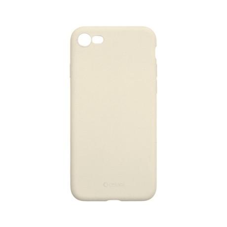 Capac protectie spate cellara din silicon colectia slim pentru iphone 7/8/se2 - gri deschis