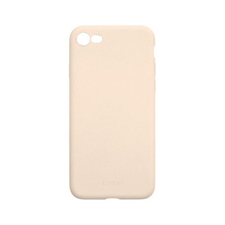 Capac protectie spate cellara din silicon colectia slim pentru iphone 7/8/se2 - roz