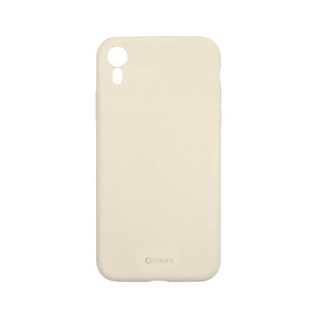 Capac protectie spate cellara din silicon colectia slim pentru iphone xr - gri deschis