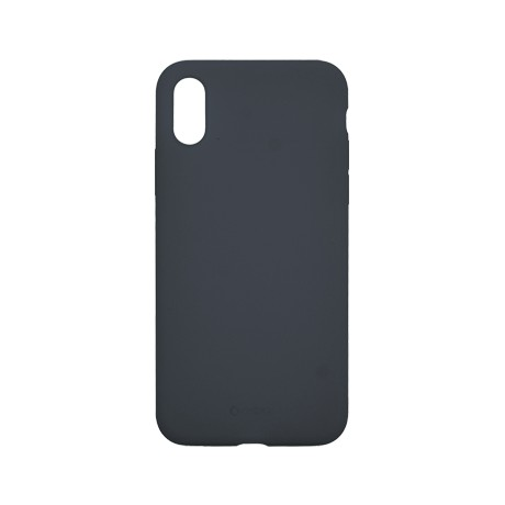 Capac protectie spate cellara din silicon colectia slim pentru iphone xs max - albastru