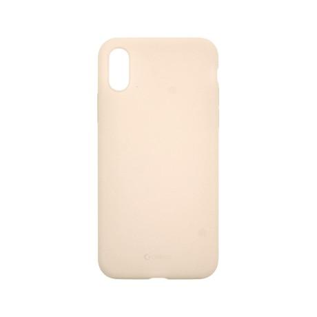 Capac protectie spate cellara din silicon colectia slim pentru iphone xs max - roz