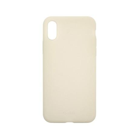 Capac protectie spate cellara din silicon colectia slim pentru iphone xs max - gri deschis