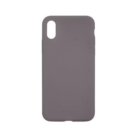Capac protectie spate cellara din silicon colectia slim pentru iphone xs max - gri