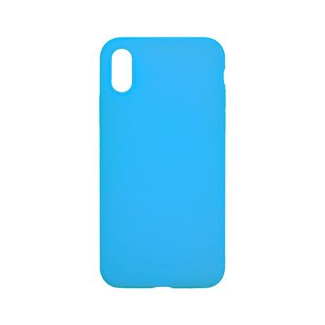 Capac protectie spate cellara din silicon colectia slim pentru iphone x/xs - fluorescent albastru