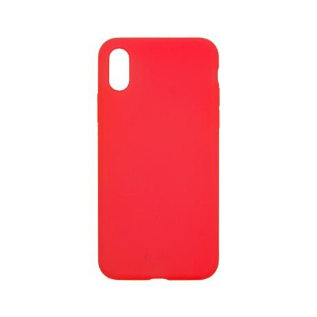 Capac protectie spate cellara din silicon colectia slim pentru iphone x/xs - rosu