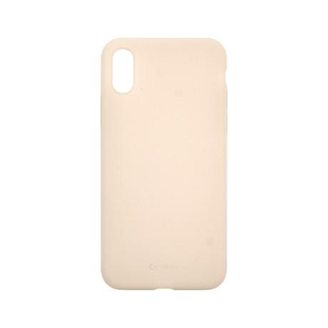 Capac protectie spate cellara din silicon colectia slim pentru iphone x/xs - roz