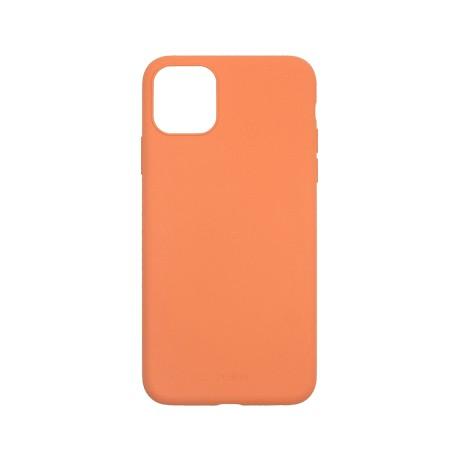 Capac protectie spate cellara din silicon colectia slim pentru iphone 11 pro max - portocaliu