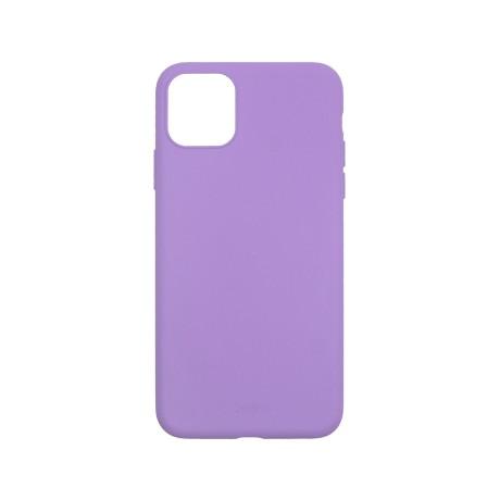 Capac protectie spate cellara din silicon colectia slim pentru iphone 11 pro max - mov