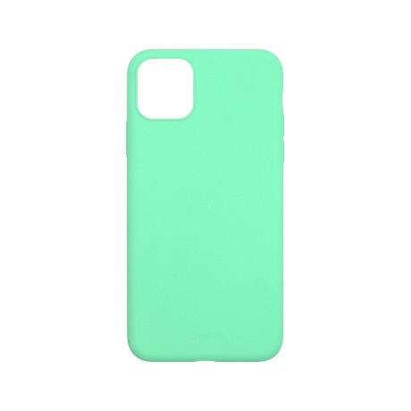 Capac protectie spate cellara din silicon colectia slim pentru iphone 11 pro max - verde deschis