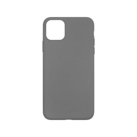 Capac protectie spate cellara din silicon colectia slim pentru iphone 11 pro max - gri