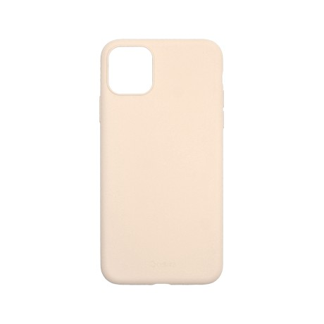 Capac protectie spate cellara din silicon colectia slim pentru iphone 11 pro max - roz