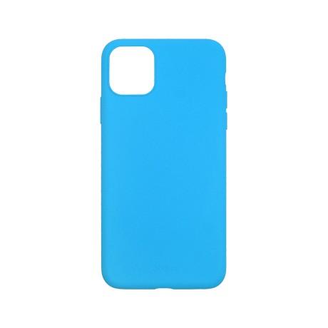 Capac protectie spate cellara din silicon colectia slim pentru iphone 11 pro - fluorescent albastru