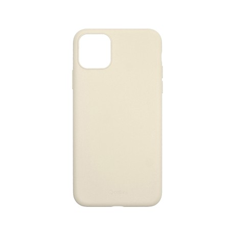 Capac protectie spate cellara din silicon colectia slim pentru iphone 11 pro - gri deschis