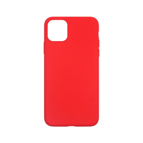 Capac protectie spate cellara din silicon colectia slim pentru iphone 11 pro - rosu
