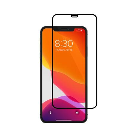 Folie protectie ecran sticla 2.5 mobiama pentru iphone xs max/11 pro max - negru
