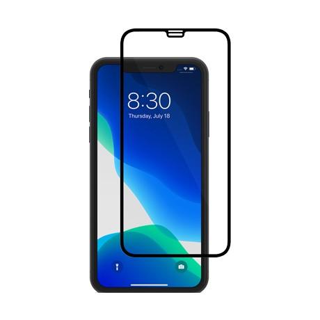 Folie protectie ecran sticla 2.5 mobiama pentru iphone xr/11 - negru