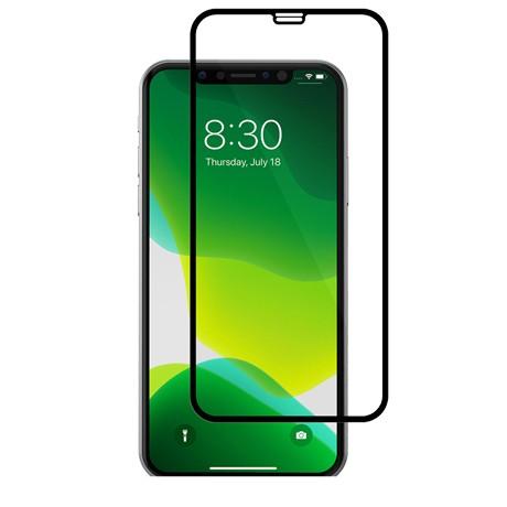 Folie protectie ecran sticla 2.5 mobiama pentru iphone x/xs/11 pro - negru