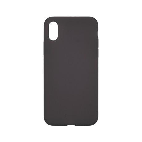 Capac protectie spate cellara din silicon colectia slim pentru iphone x/xs - negru