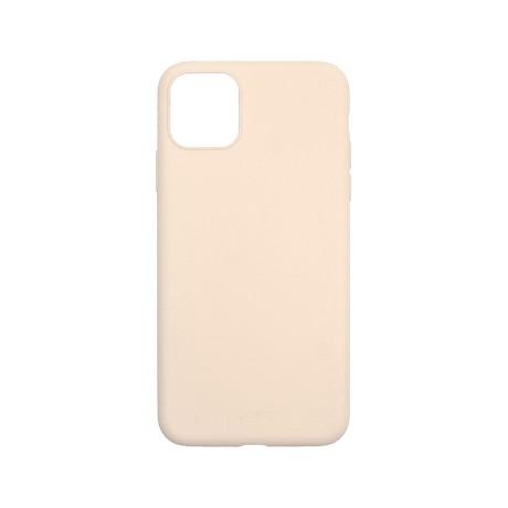 Capac protectie spate cellara din silicon colectia slim pentru iphone 11 - roz