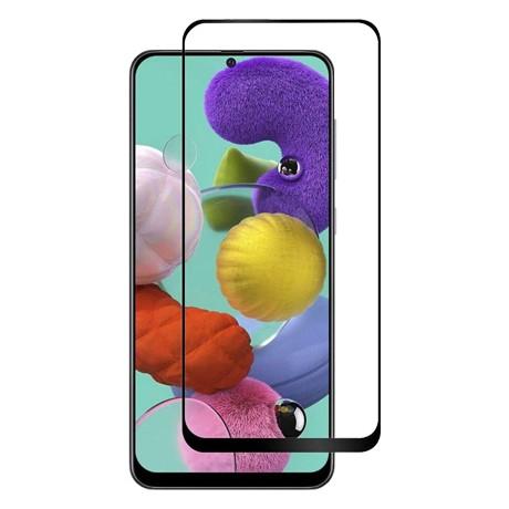 Folie protectie ecran sticla 2.5 full glue mobiama pentru samsung galaxy a51 - negru