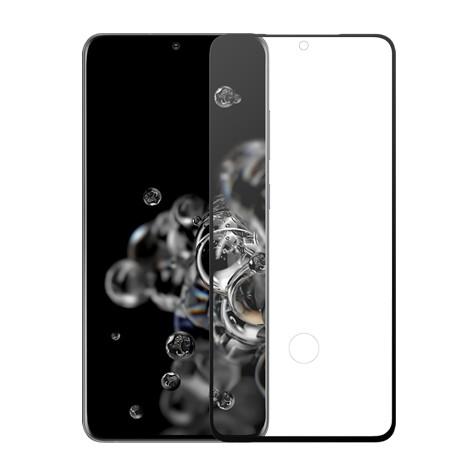 Folie protectie ecran sticla 3d full cover ultra sonic cellara pentru samsung galaxy s20 ultra - negru