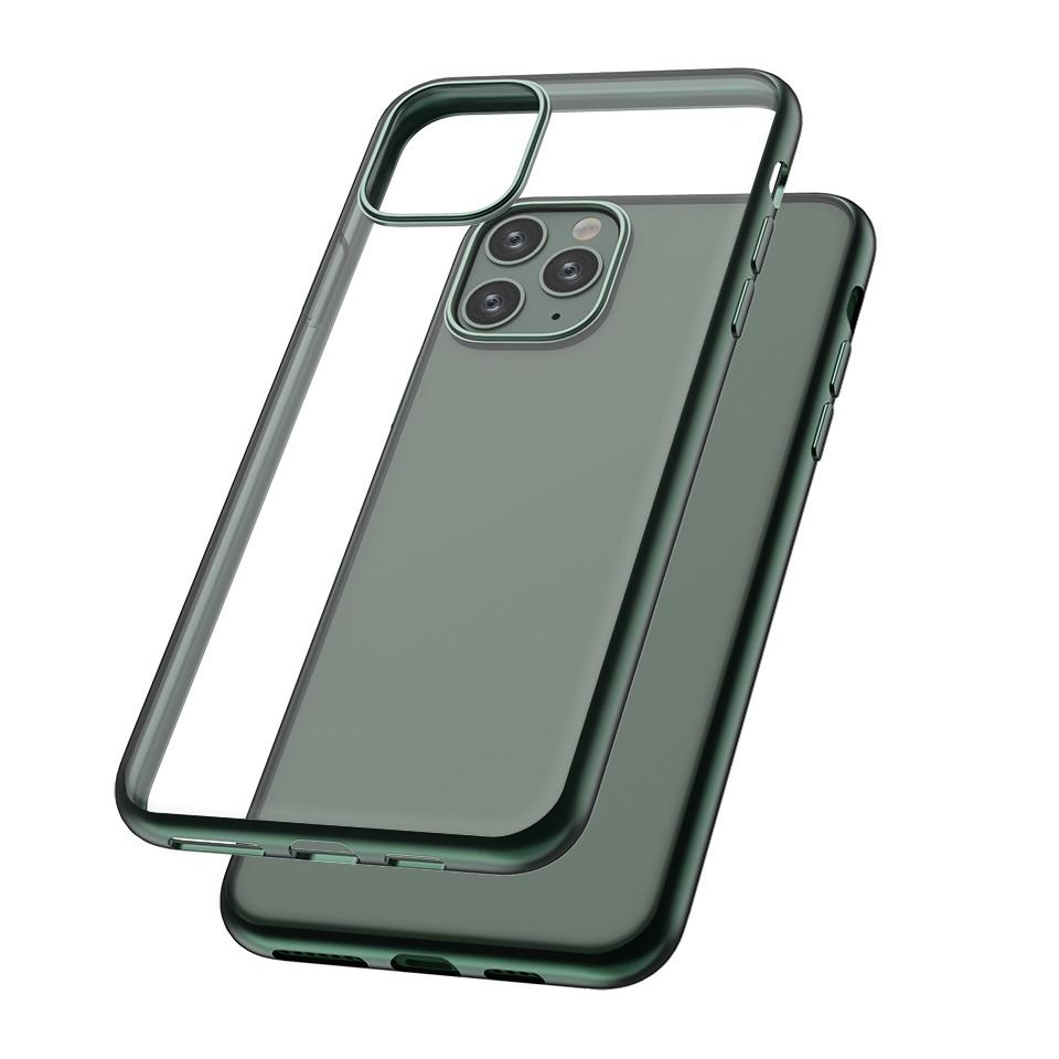Capac protectie spate cellara colectia electro pentru iphone 11 pro max - verde