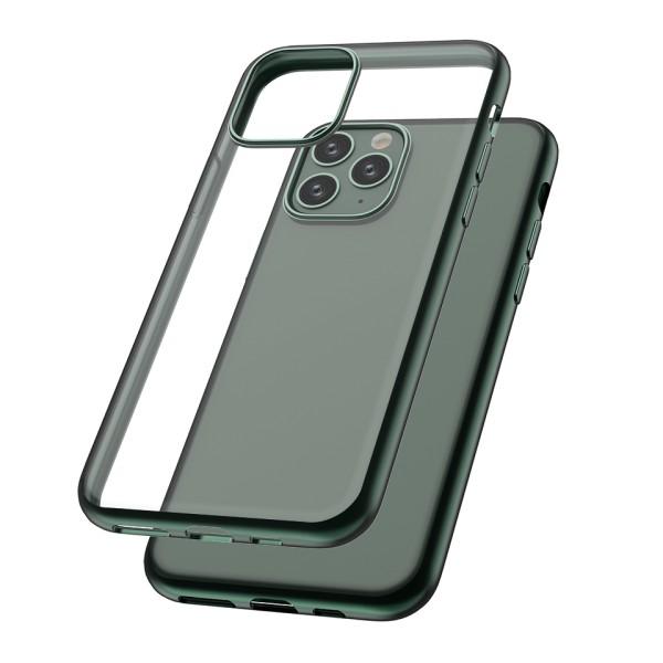 Capac protectie spate cellara colectia electro pentru iphone 11 pro - verde