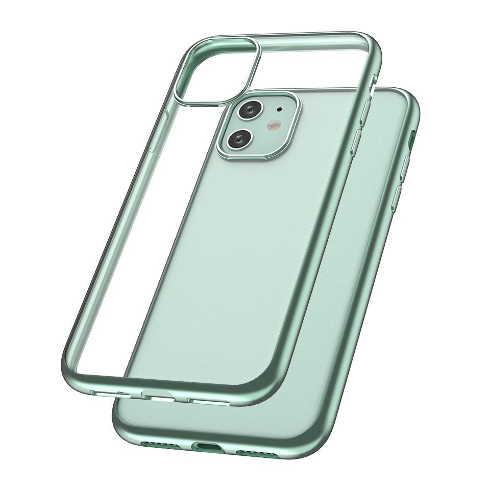 Capac protectie spate cellara colectia electro pentru iphone 11 - verde