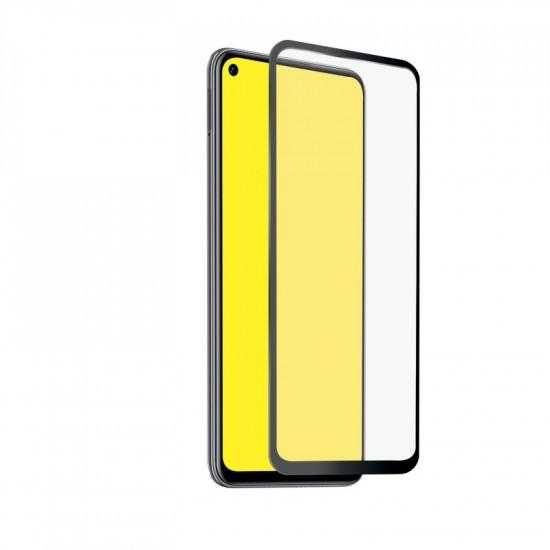 Folie protectie ecran sticla 2.5 full glue mobiama pentru huawei p40 lite 5g - negru