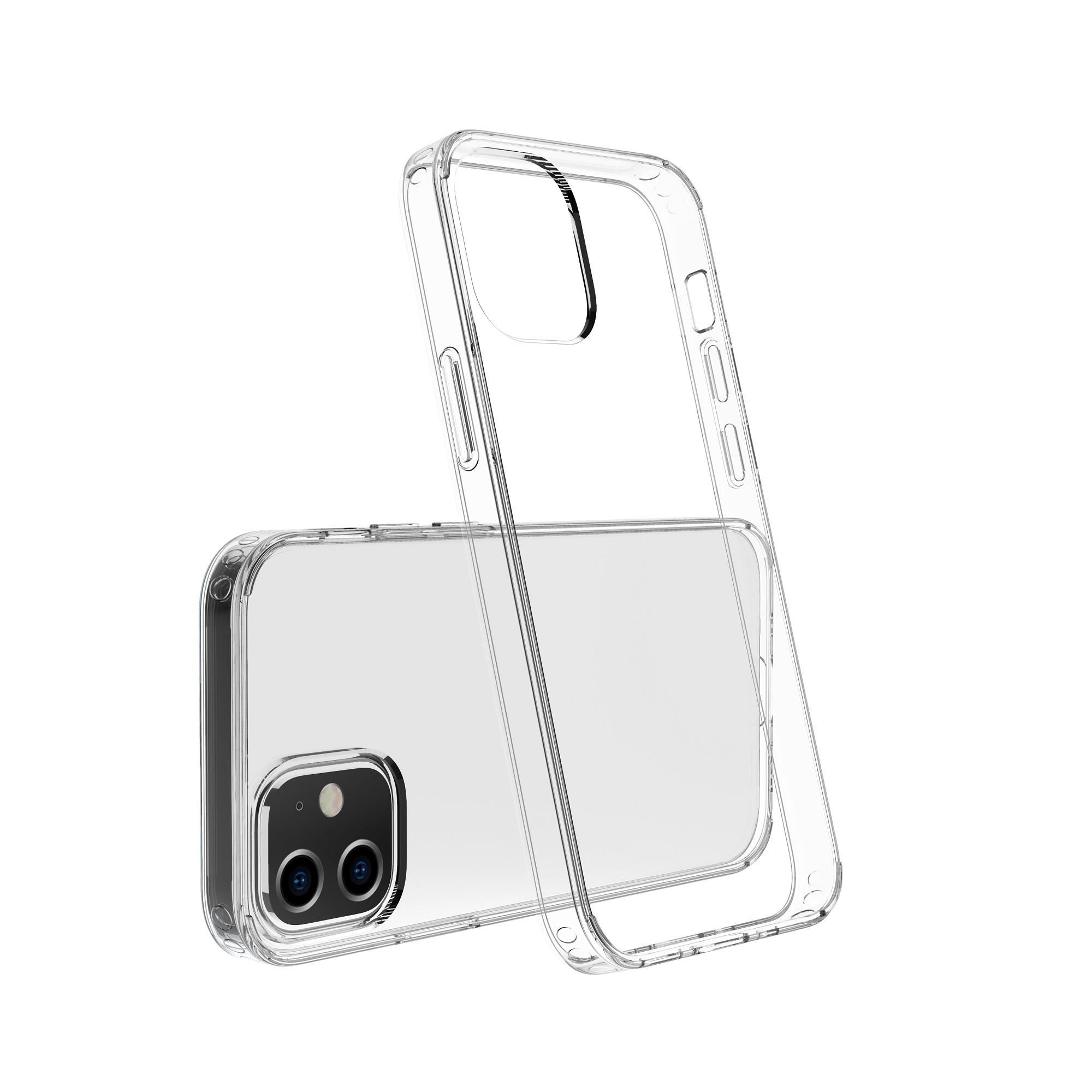 Capac protectie spate cellara colectia crystal pentru iphone 12 mini - transparent