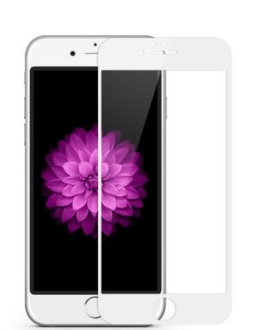Folie protectie ecran sticla 2.5 mobiama pentru iphone 6/6s - alba