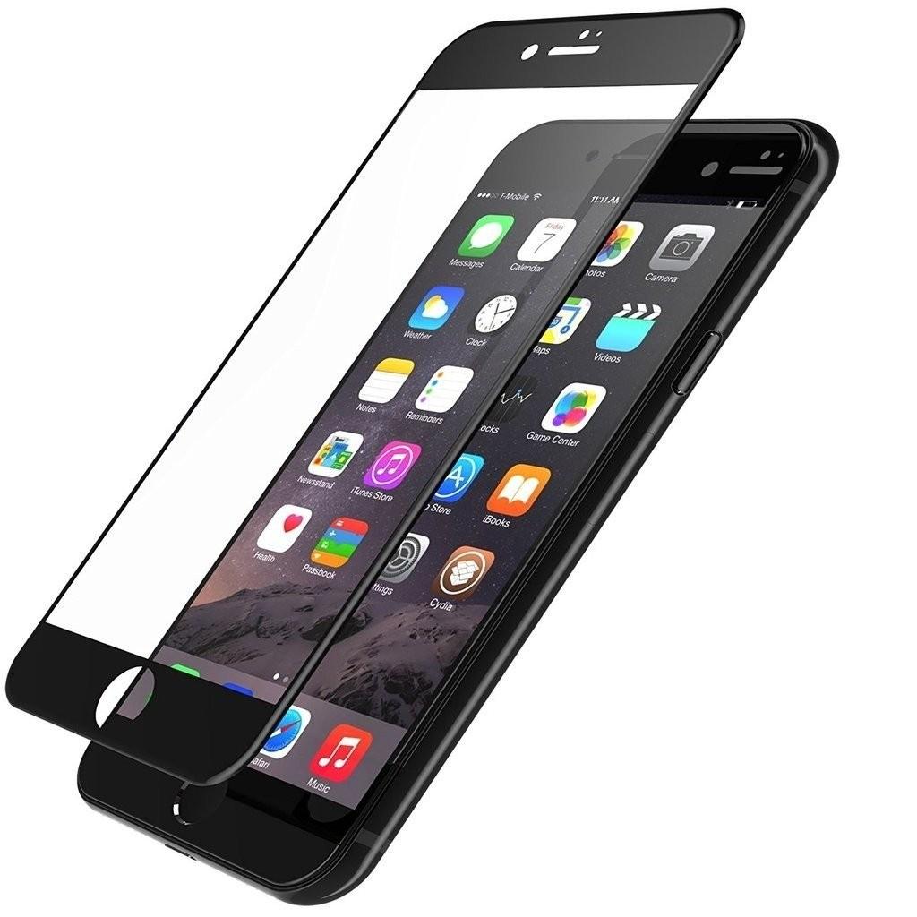 Folie protectie ecran sticla 2.5 mobiama pentru iphone 7/8/se2 - negru