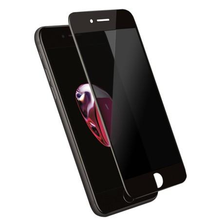 Folie protectie ecran sticla 3d privacy cellara pentru iphone 7/8/se2 plus - negru