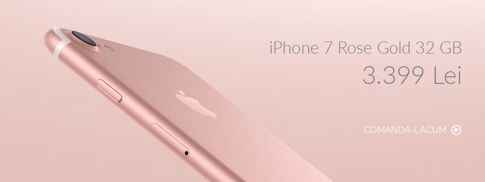 Comanda iPhone 7 32GB 4G Rose Gold