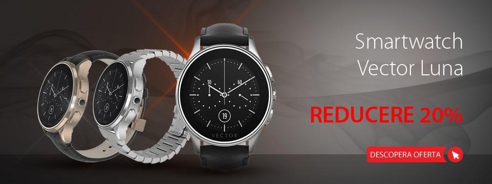 Smartwatch Vector Luna
